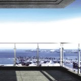 Edelstahl-Handlauf-und Glas-Befestigungs-Schellen für Balustrade