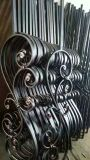 Fabricantes que venden maravillosamente la barandilla del hierro labrado