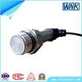 Transmissor de pressão 4~20mA/0-5V/0-10V sanitário da braçadeira Ss316