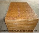 Palette de palette de palette de palier en bambou pour machine à bloc