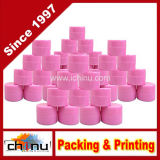(0.25oz) frasco dobro grosso resistente do recipiente plástico da parede da cor-de-rosa 7ml
