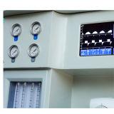 A máquina a mais barata de Anethesia dos medidores de fluxo das câmaras de ar do adulto & da criança 2 da tela de indicador do diodo emissor de luz