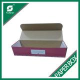 색깔 인쇄를 가진 물결 모양 꽃 포장 상자