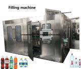 ペットガラスビンのための水Rinserの注入口のふた締め機のTriblock機械