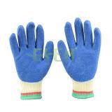 Перчатки нитрила наполовину покрынные/окунутые хлопка работы безопасности, перчатки сада