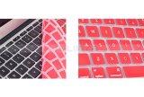 De duidelijke Laptop van de Douane Dekking van het Toetsenbord van het Silicium van de Kleuren van de Versie van de EU van de Dekking van de Huid van het Silicium van het Toetsenbord voor Huid van het Scherm van de Beschermer van de Lucht MacBook de PRO