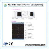 Preço da máquina da máquina ECG da canaleta ECG da máquina 6 das ligações ECG de ECG Machinewireless ECG 12