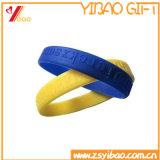 De beste het Verkopen Kleurrijke Manchet van de Armband van het Silicone