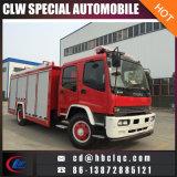 Isuzu 4X2 5000L 6000L Feuer erlöschen LKW-Feuer-Fahrzeug