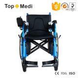 Кресло-коляска дешевого цены Topmedi поставщика Китая складная электрическая