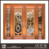 Deur Van uitstekende kwaliteit van het Koper van Coppman de Commerciële met Glas