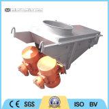 Tipo de vibração do motor não balanceada para pendurar o alimentador do cilindro