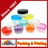 5ml leeren freie Behälter-Gläser mit Mehrfarbenkappen