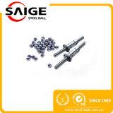 """Bille en métal d'AISI440 G100 1/4 """" meulant la bille d'acier inoxydable"""