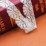 L'ultimo materiale dell'abito progetta il testo fisso elastico nuziale del merletto dello Spandex di nylon