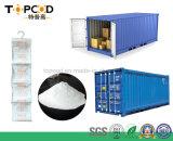 Kalziumchlorid-Trockenmittel mit dem Tyvek Papier verwendet im Ozean-Verschiffen
