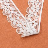 Garniture en nylon décorative de lacet de qualité de guipure de beauté