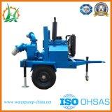 Pompa per acque luride motorizzata diesel di movimento rapido per Waterlog