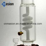 Tubo de agua blanco de filtración Twisted del jade (BY003)