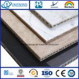 El panel de mármol con el panel de aluminio del panal para el revestimiento de la pared