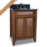 Fed-1903 Espresso moderno cuarto de baño de la vanidad del Gabinete de baño negro