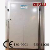 Porta de pivô metálico para armazenamento a frio
