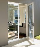 Woodwin Supreme Quality Double verre trempé Aluminium Casement Door