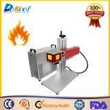 máquina da marcação do laser da fibra do CNC 20W para o alumínio de aço de madeira plástico para a venda
