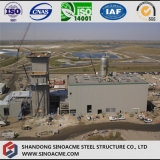 Estructura de acero industriales para la planta de energía de la presa