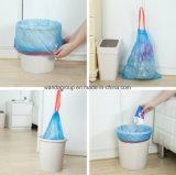Sacchetto impaccante del Drawstring di plastica poco costoso per spreco