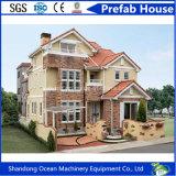 가벼운 강철 구조물을%s 가진 현대 조립식 이동할 수 있는 집