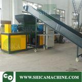 Transportador de Correia plana para resíduos plásticos