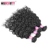 Weave brasileiro do cabelo humano de Remy da venda por atacado do cabelo do Virgin cru natural