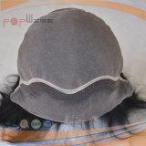 Grau superior Virgem Brasileira Remy Hair Lace Front Peruca (PPG-L-0714)