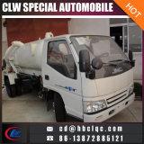 工場よい価格Kmc 4m3の下水タンクトラックの真空タンクトラック