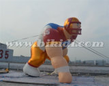 巨大で膨脹可能なフットボール選手の漫画モデルK2097