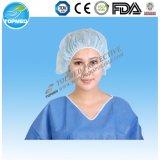 Protezione chirurgica a gettare dell'infermiera della protezione per medico