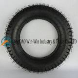 플래트홈에 사용된 압축 공기를 넣은 고무 바퀴는 나른다 바퀴 (4.00-12)를