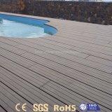 Ventas calientes fáciles instalar Decking de madera compuesto impermeable de WPC