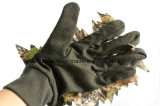 густолиственные перчатки звероловства камуфлирования 3D