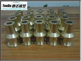 Peças de maquinaria de bronze pela máquina do CNC