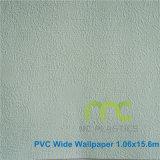 Papel de parede do vinil do PVC, tamanho largo/decoração Projective cor pura para lugares públicos