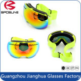 Cheap Unisex Snow Ski Goggles Mulheres Homens Dual UV Protection Marcas personalizadas Ski Goggles with Elastic Band