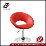 PU réglable pivotant en cuir de couleur rouge Loisirs Président Zs-603b