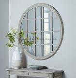 Grande fenêtre français forme châssis Mur miroir rond