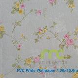 Precio de Factroy de la anchura grabada profunda el 1.06m del papel pintado del PVC