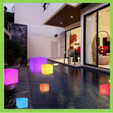 Light Up Cube Seat Chair Stool Illuminated LED Cube