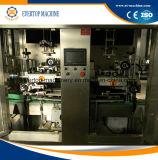 Selbst-Hülse Kennsatz-Schrumpfmaschinen-kundenspezifischer/trinkender Produktionszweig