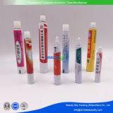 Ungüento crema cosmética farmacéutica embalajes plegables de aluminio laminado de tubo de plástico