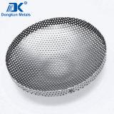 Нержавеющая сталь 304 штемпелюя части для стрейнера
